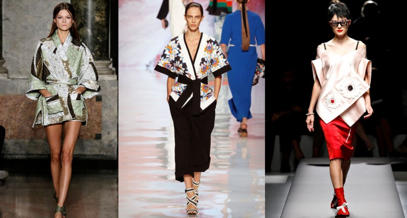 Breaking Trends Spring 2013: Asian Influences - Breaking-Trends-Spring-2013-Kimono-collage