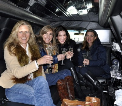 Girls day out VIP limo shopping experience