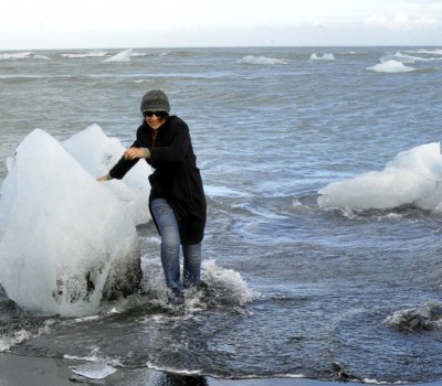 Karen in Iceland