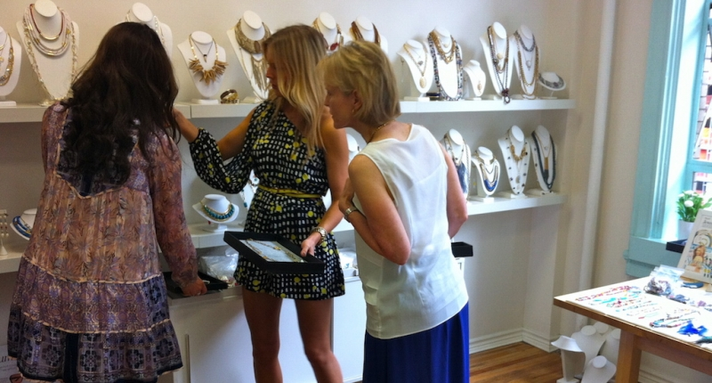 Mother Daughter Bonding Through VIP Shopping Experience in NYC - jewelry shopping