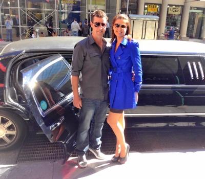 limo shopping tour husband and wife vip