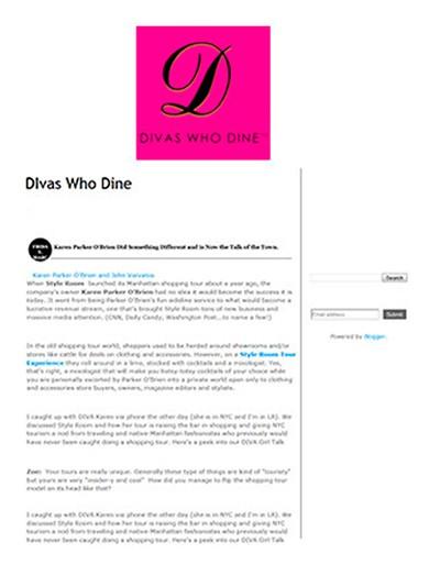 Divas who Dine March 2013 - Divas who dine