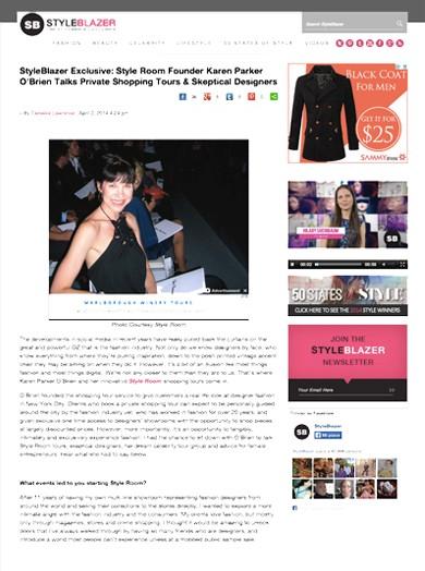 Styleblazer April 2014 - Styleblazer