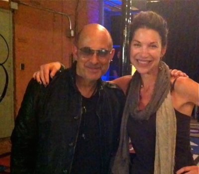 With John Varvatos